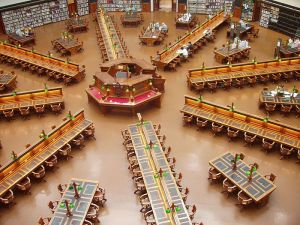 State Library Reading Room