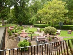 Miniature Tudor Village at the Fitzroy Gardens